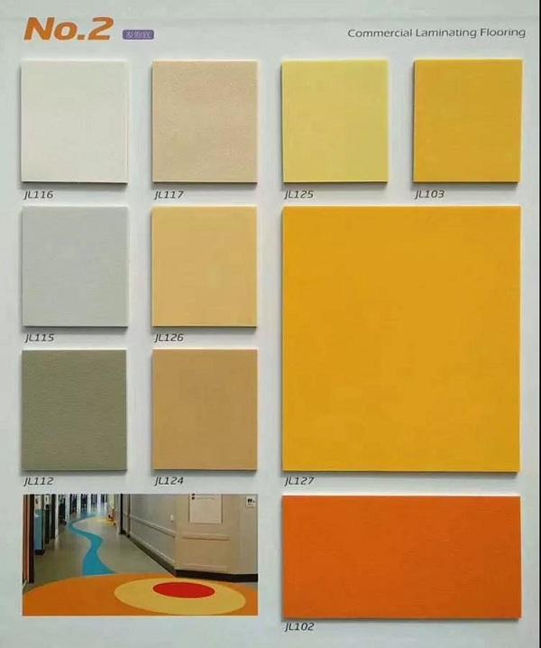 Solid Color PVC Floor Membrane Wholesaler
