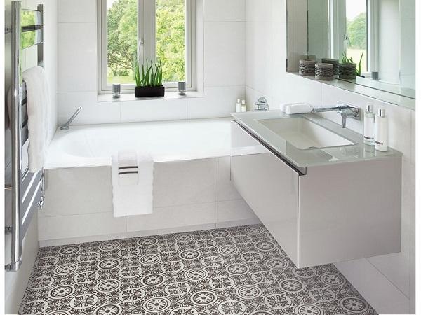 Kitchen Floor New Protagonist Pvc Flexible Flooring 3c