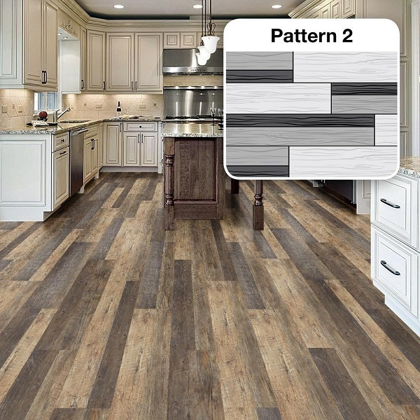 Finally Lvt Vinyl Flooring Is Extremely Quiet To Walk On Because Of The Cork Underlayment Which Also Makes It A Warm Comfortable Walking Surface