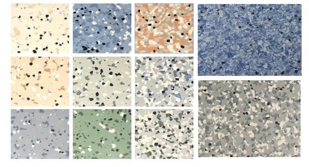 Resilient Anti-Static vinyl Flooring Tile