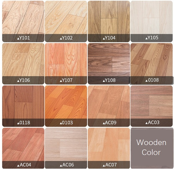 linoleum flooring colors